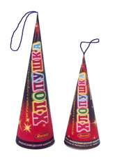 Firecracker conical (large and small)